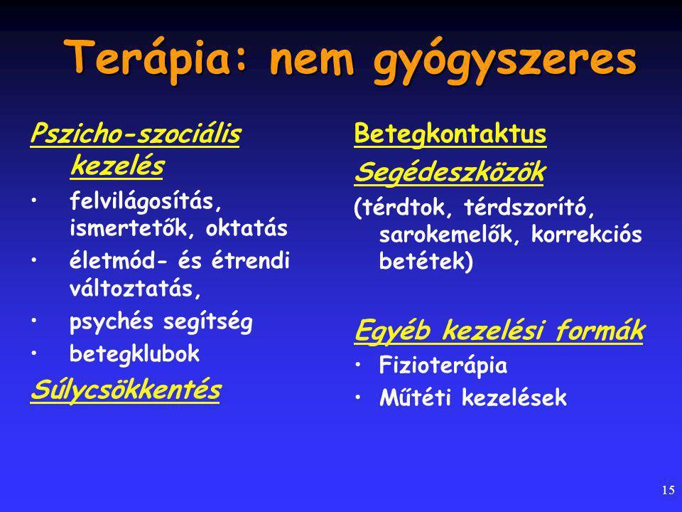 Terápia: nem gyógyszeres