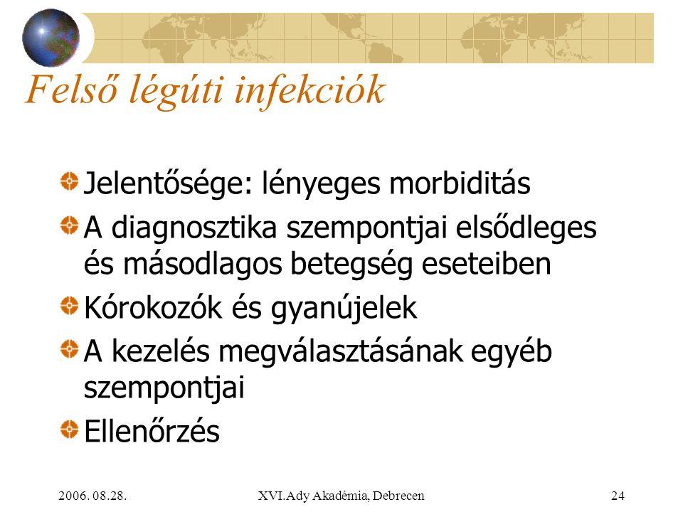 Felső légúti infekciók