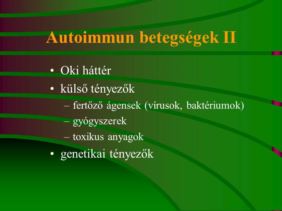 Autoimmun betegségek II