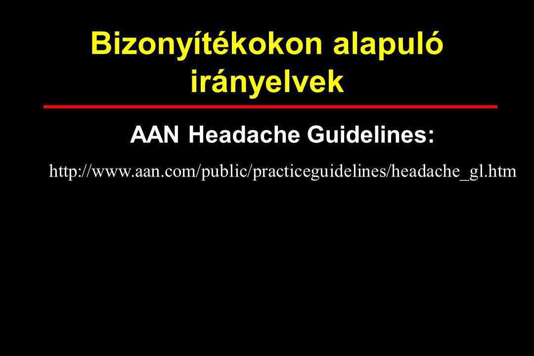 Bizonyítékokon alapuló irányelvek