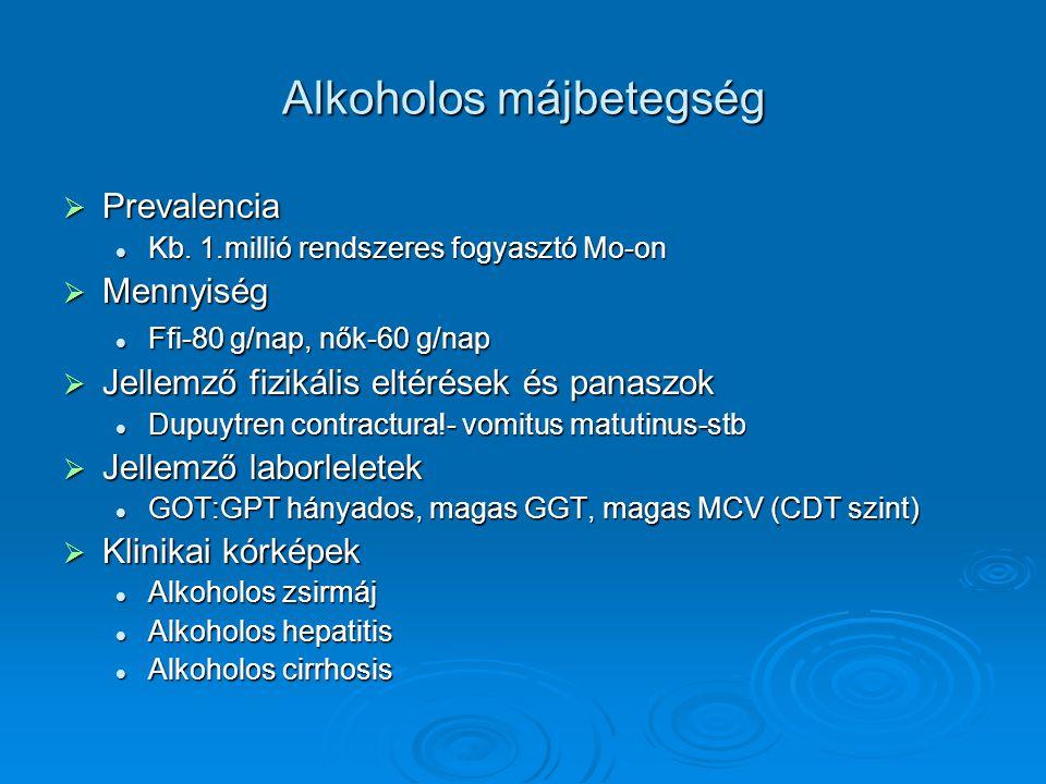 Alkoholos májbetegség