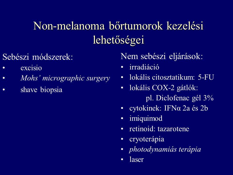 Non-melanoma bőrtumorok kezelési lehetőségei