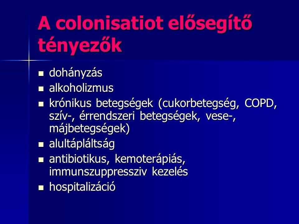 A colonisatiot elősegítő tényezők
