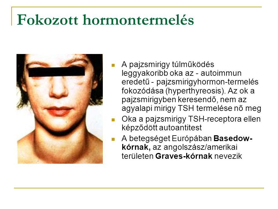 Fokozott hormontermelés