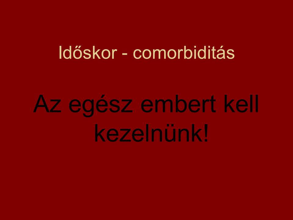 Időskor - comorbiditás