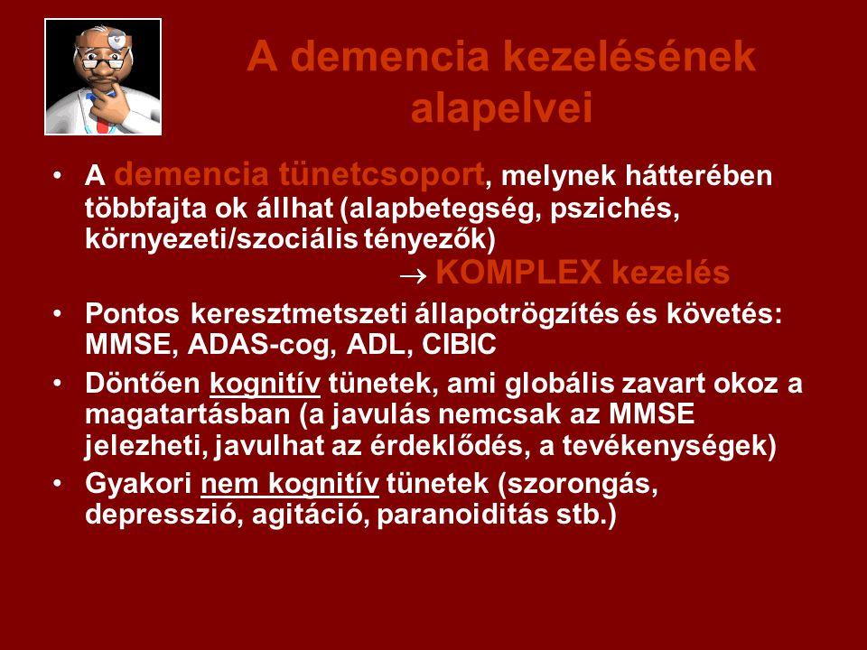 A demencia kezelésének alapelvei