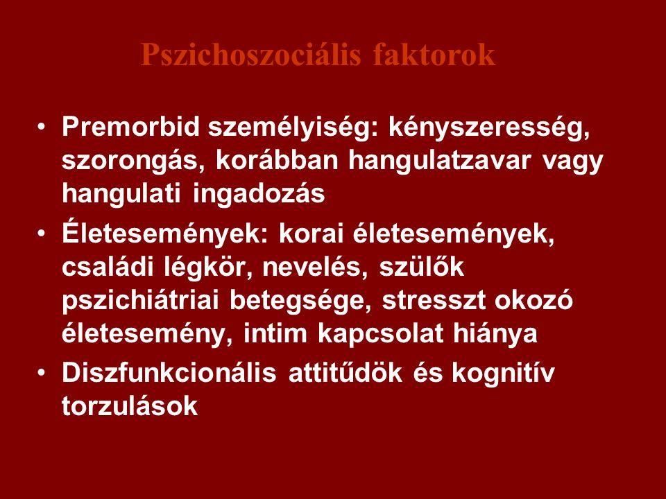 Pszichoszociális faktorok