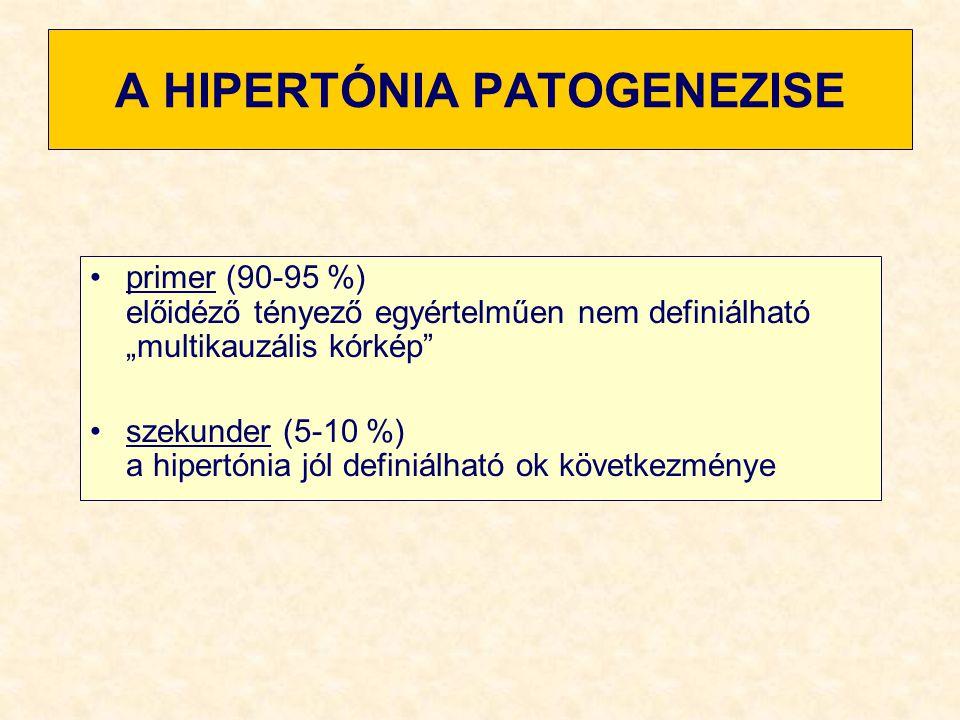 A HIPERTÓNIA PATOGENEZISE
