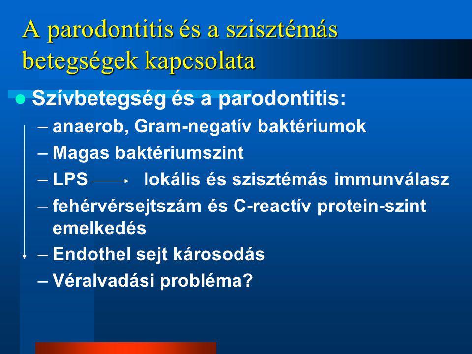 A parodontitis és a szisztémás betegségek kapcsolata