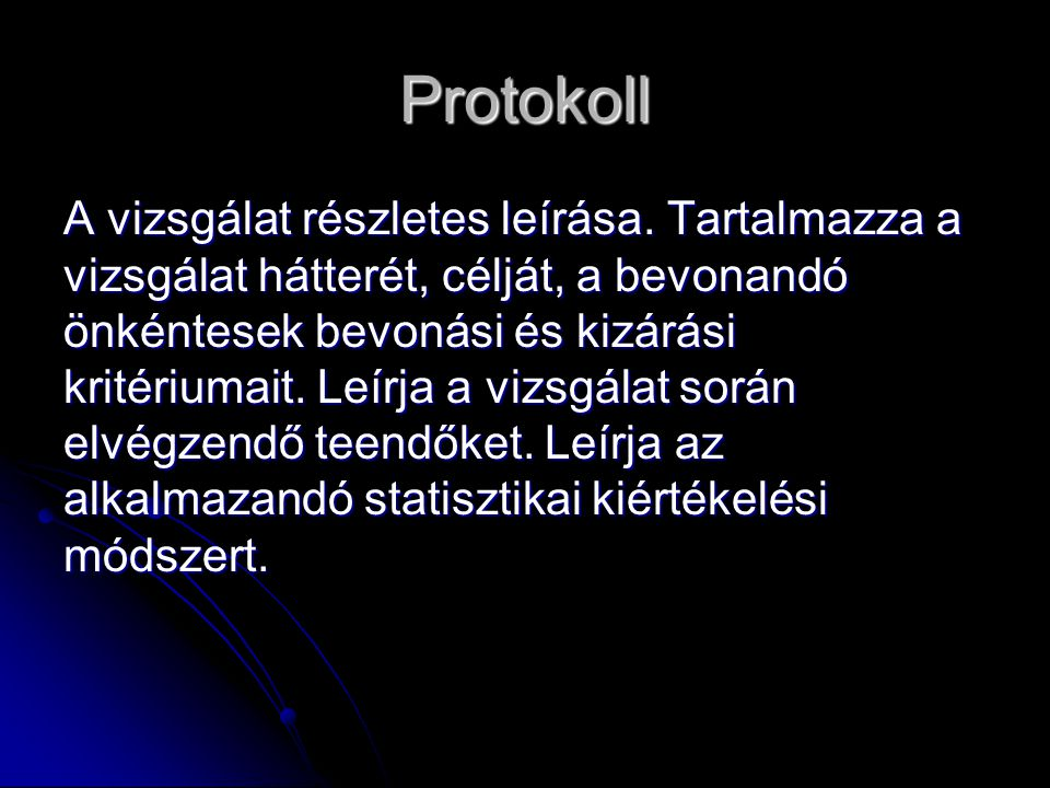 Protokoll