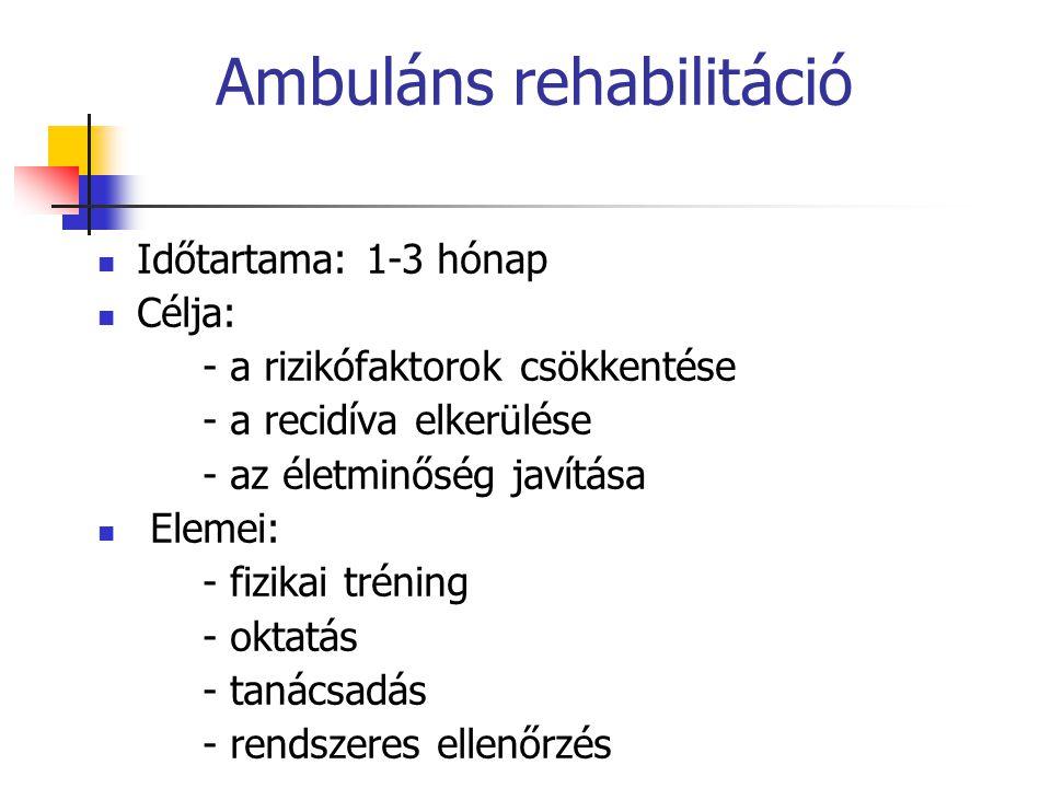 Ambuláns rehabilitáció