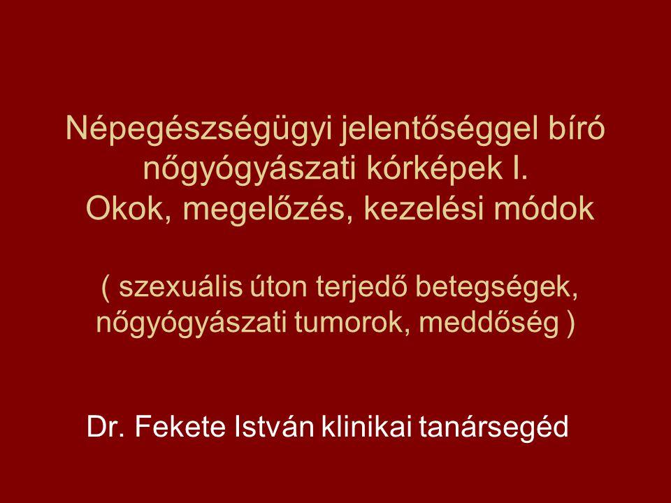 Dr. Fekete István klinikai tanársegéd