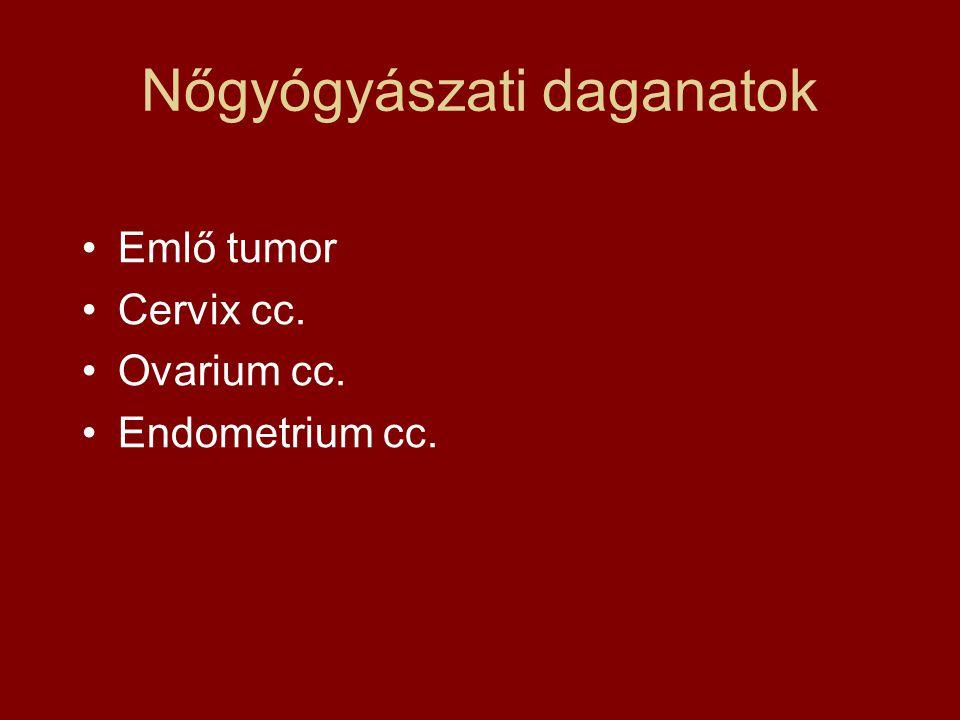 Nőgyógyászati daganatok