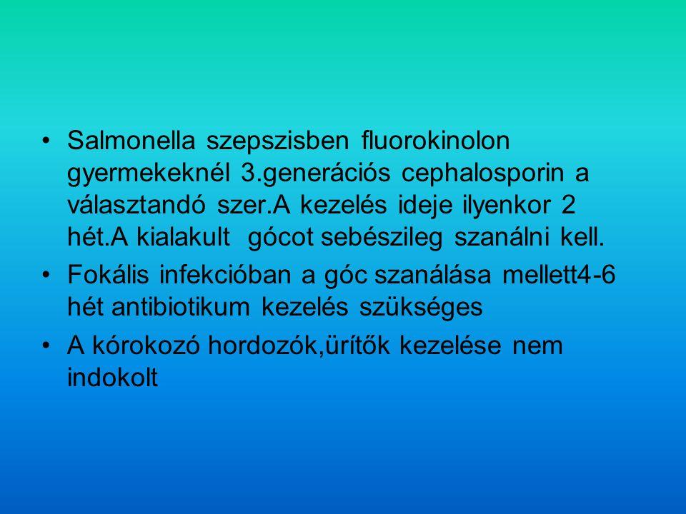 Salmonella szepszisben fluorokinolon gyermekeknél 3