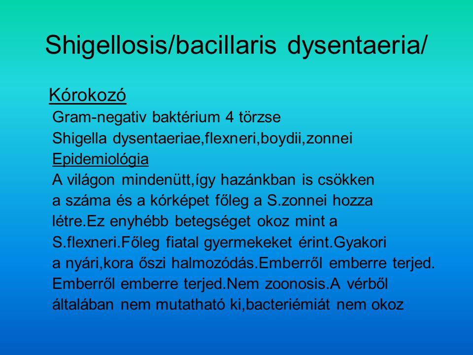 Shigellosis/bacillaris dysentaeria/