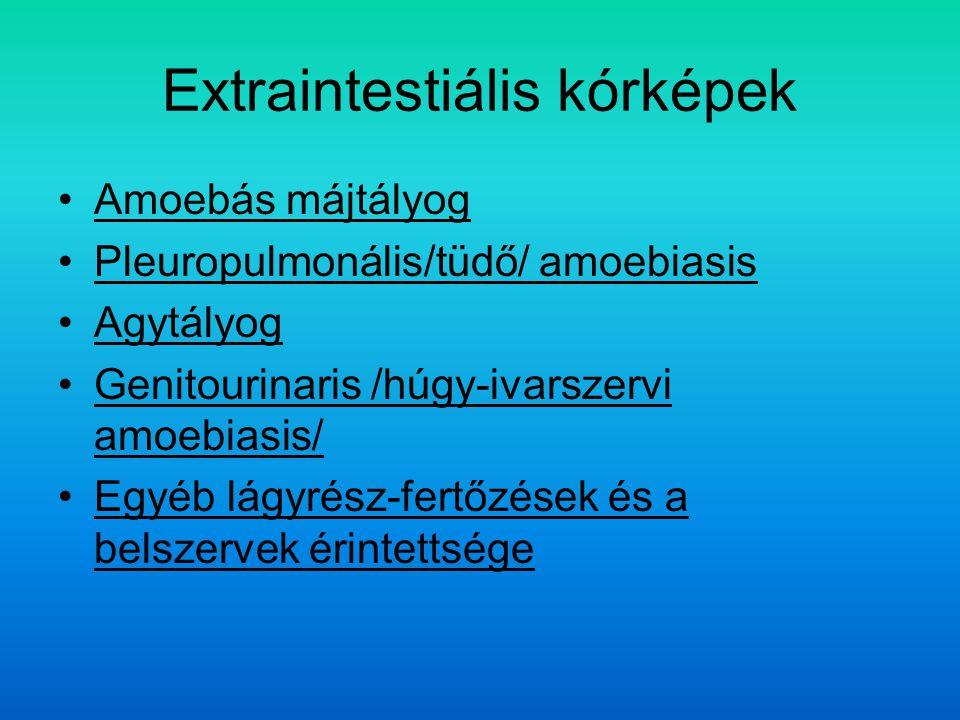 Extraintestiális kórképek