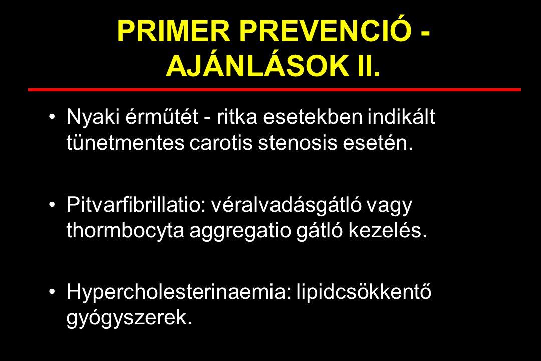 PRIMER PREVENCIÓ - AJÁNLÁSOK II.