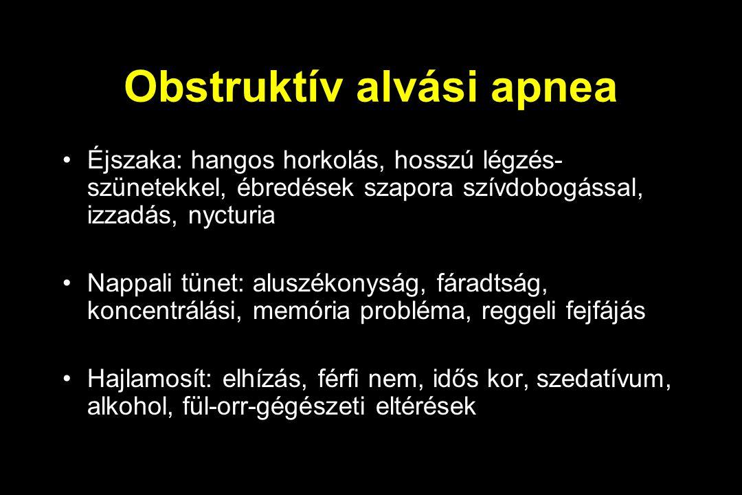 Obstruktív alvási apnea