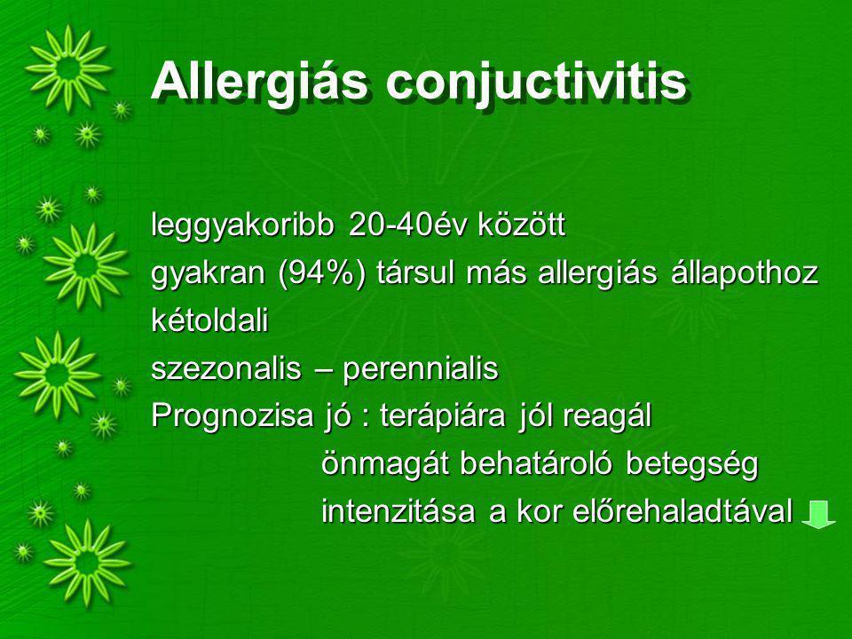Allergiás conjuctivitis