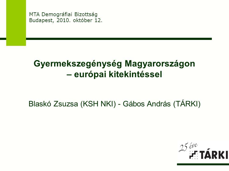 Gyermekszegénység Magyarországon