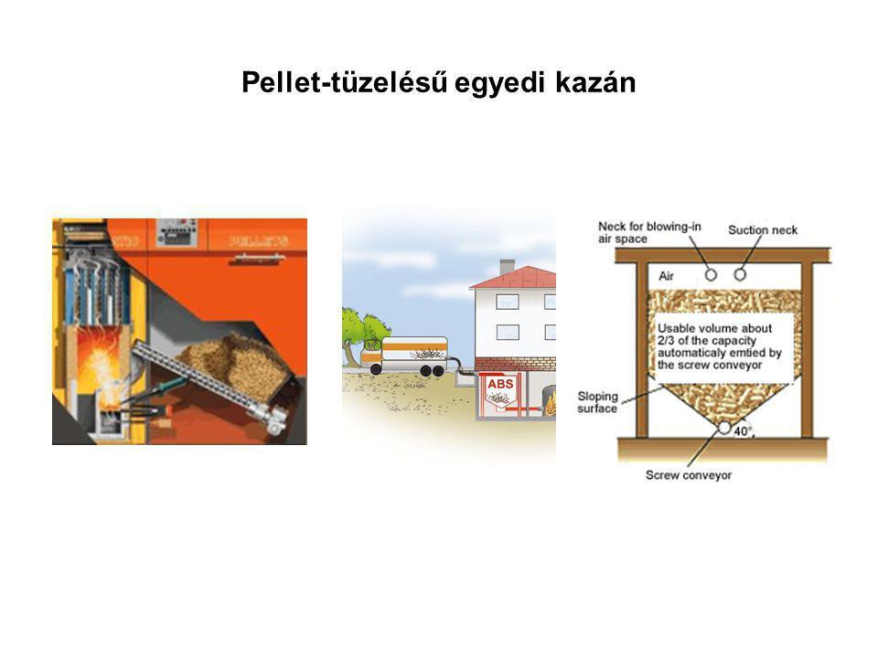Pellet-tüzelésű egyedi kazán