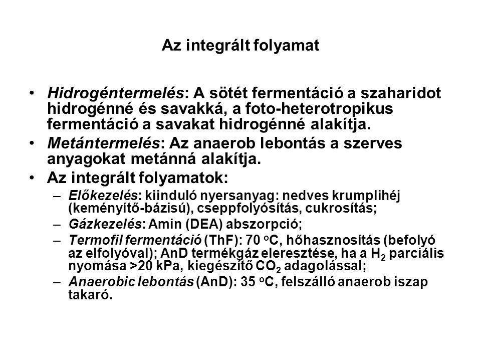 Az integrált folyamatok: