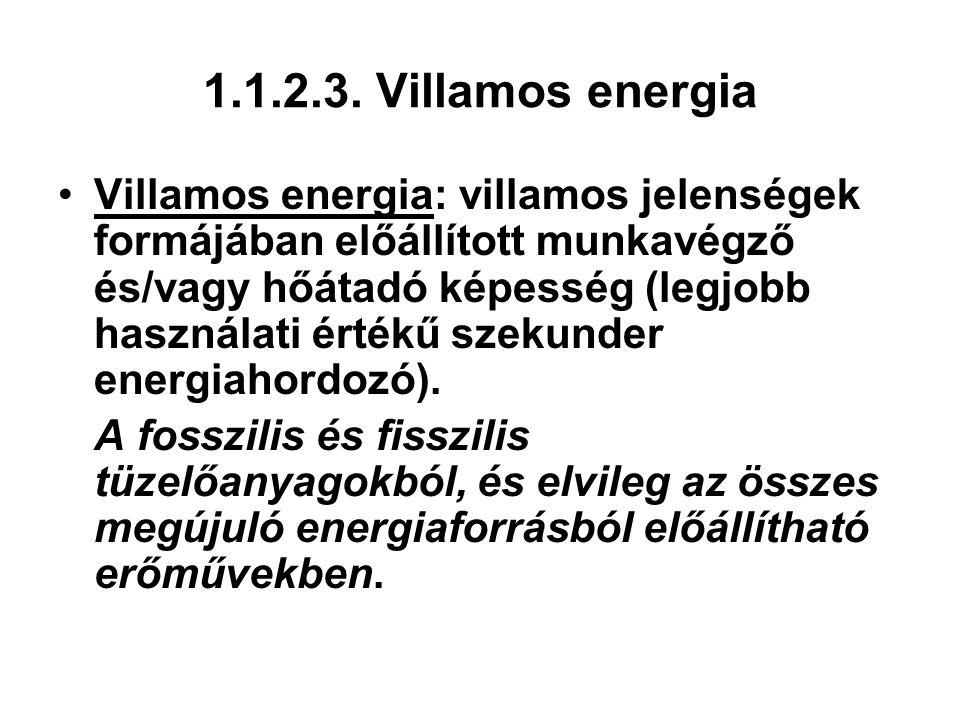 1.1.2.3. Villamos energia