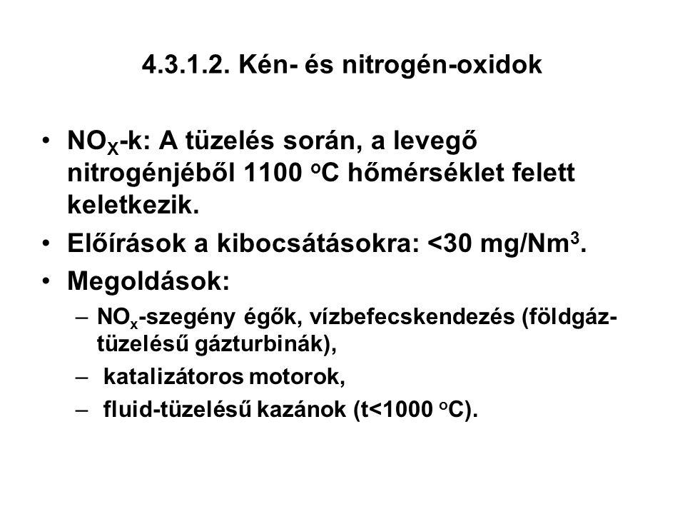 4.3.1.2. Kén- és nitrogén-oxidok
