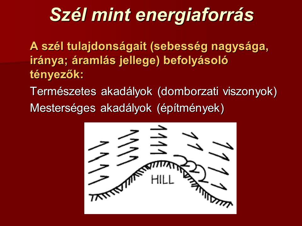 Szél mint energiaforrás
