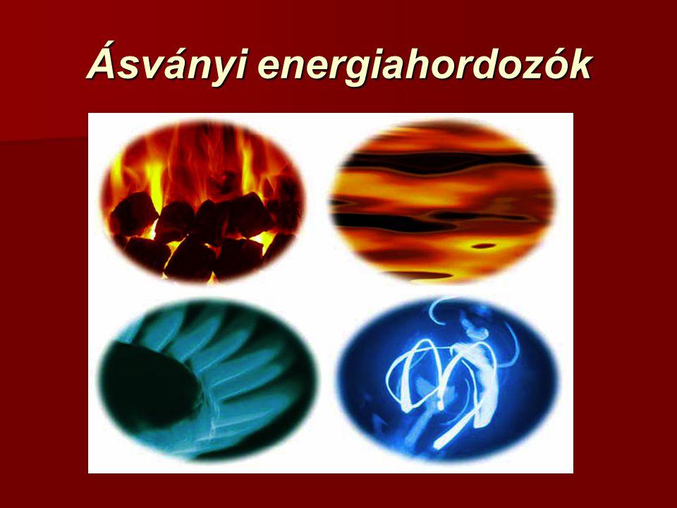 Ásványi energiahordozók