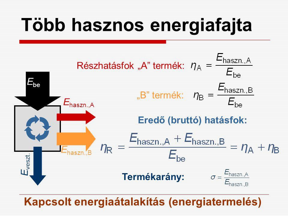 Több hasznos energiafajta