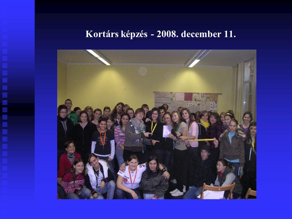 Kortárs képzés - 2008. december 11.
