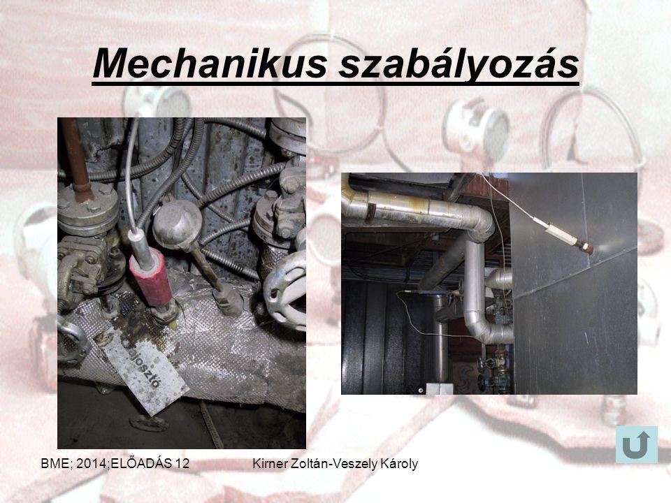 Mechanikus szabályozás