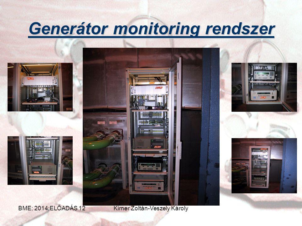Generátor monitoring rendszer