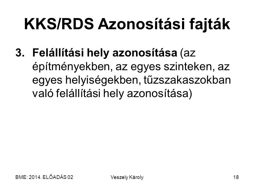 KKS/RDS Azonosítási fajták