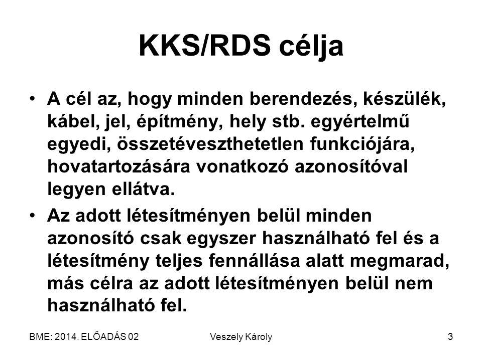 KKS/RDS célja