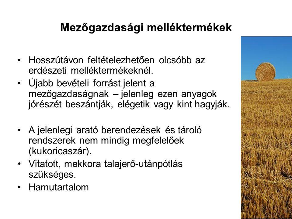 Mezőgazdasági melléktermékek