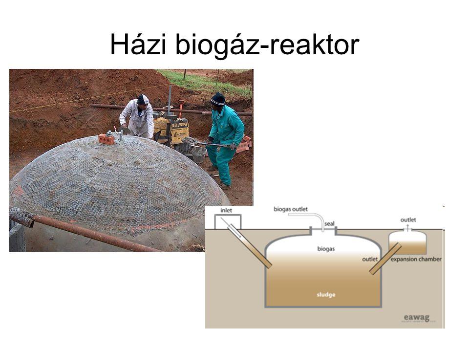 Házi biogáz-reaktor