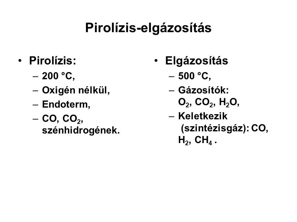 Pirolízis-elgázosítás