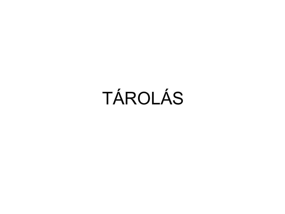 TÁROLÁS