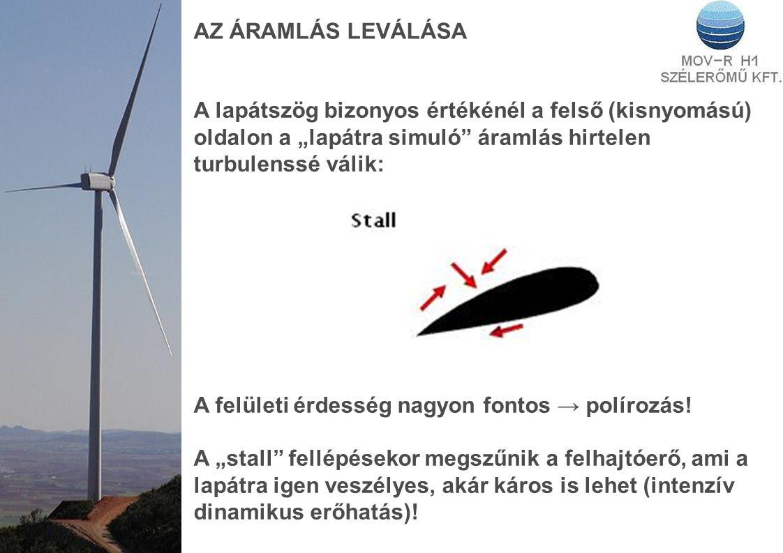 AZ ÁRAMLÁS LEVÁLÁSA