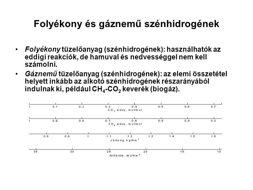 Folyékony és gáznemű szénhidrogének