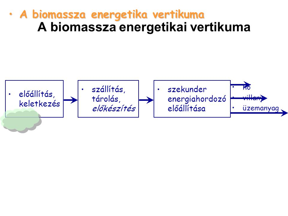 A biomassza energetikai vertikuma
