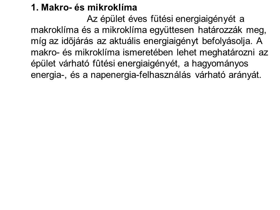 1. Makro- és mikroklíma