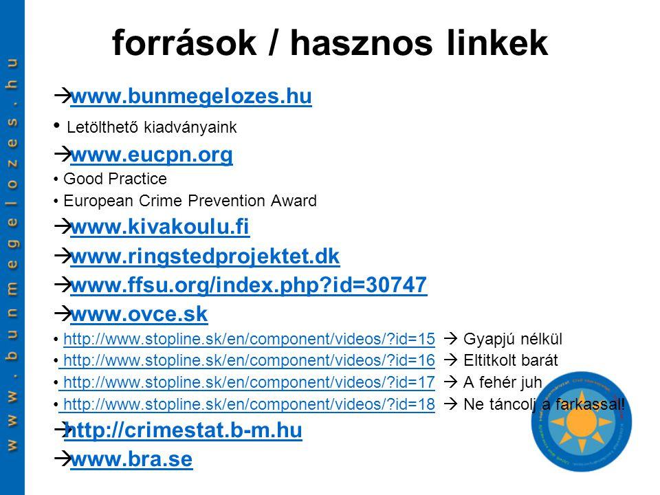 források / hasznos linkek