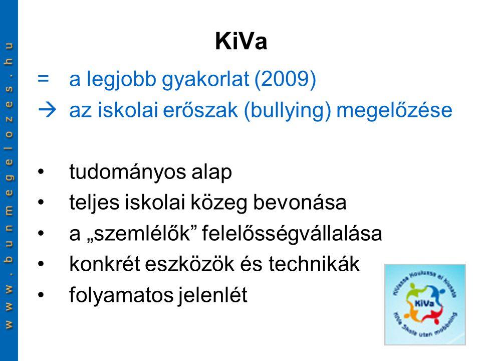KiVa = a legjobb gyakorlat (2009)