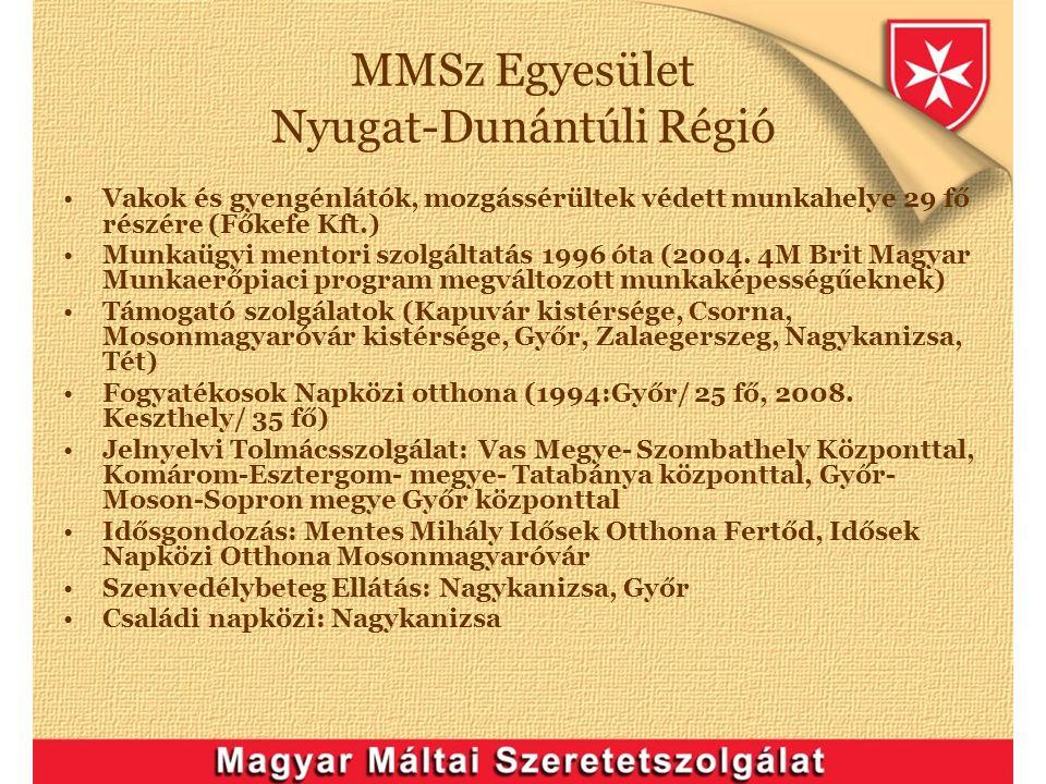 MMSz Egyesület Nyugat-Dunántúli Régió