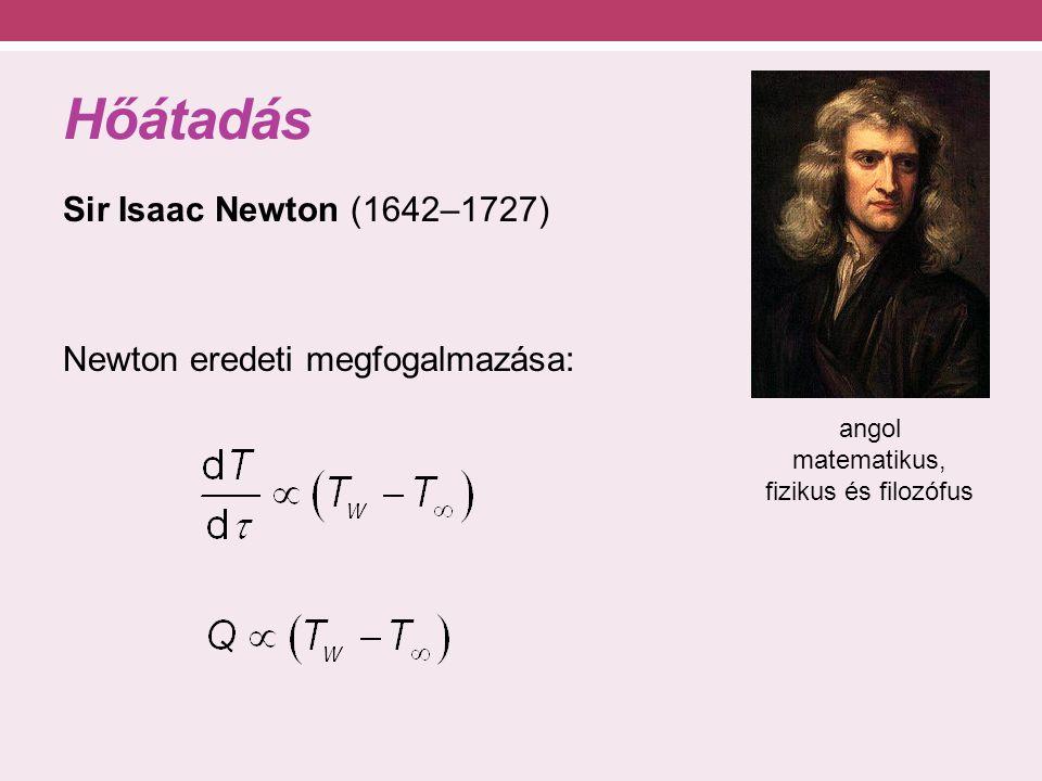angol matematikus, fizikus és filozófus
