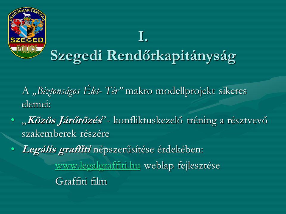 I. Szegedi Rendőrkapitányság