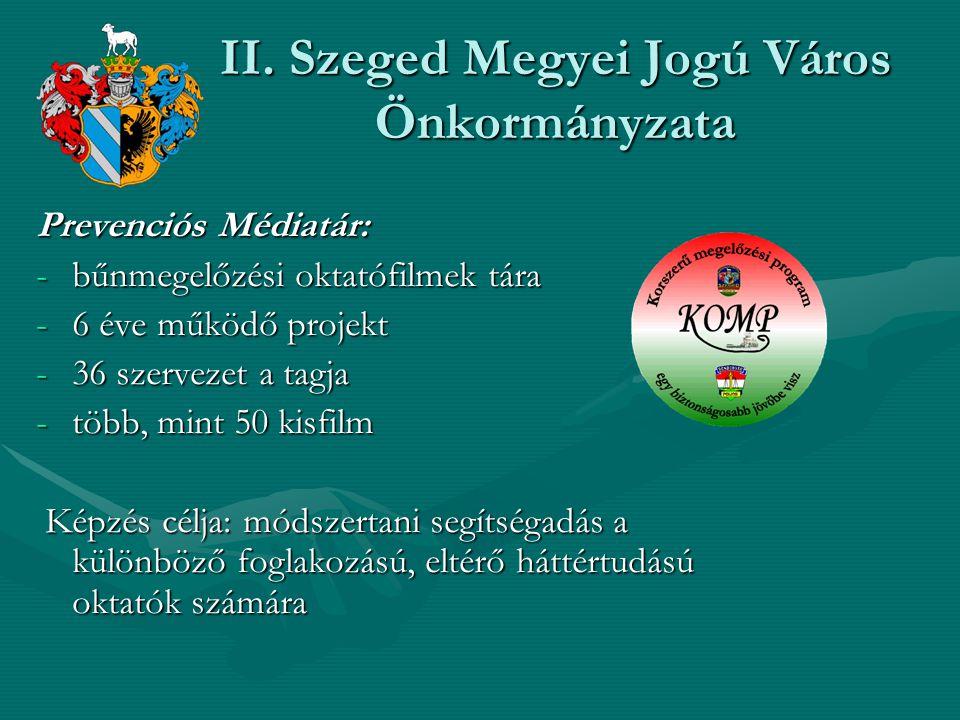 II. Szeged Megyei Jogú Város Önkormányzata
